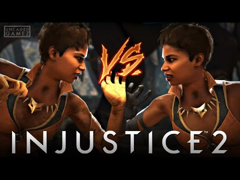 Injustice 2: FULL Vixen VS Vixen Gameplay!