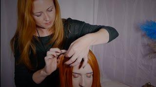 ASMR Style Hair Pulling Massage | Gentle, Soft Spoken, Hair Sounds