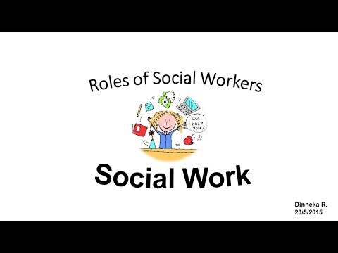 role of social worker in community