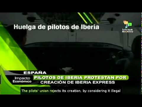Iberia pilots plan strikes