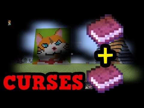 Minecraft Xbox 360 / PS3 TU54 - CURSES (TROLL ENCHANTMENTS)