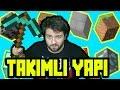 Minecraft Takımlı Yapı Kapışması ( Team Build Battle ) /w Eso  Kardan Kale ve Güneş Yapımı