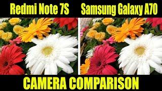 Redmi Note 7S VS Samsung Galaxy A70 - Camera Comparison