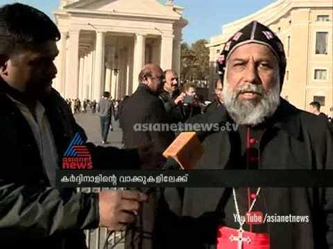 Mar Cleemis,head of CBCI speaks on canonization, from Vatican