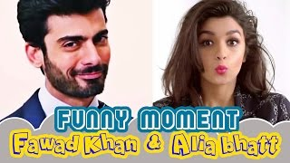 These are the weird things Fawad Khan taught Alia Bhatt and it's hilarious | Watch Video