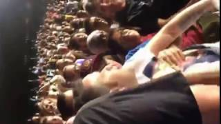 Clinton Rally 'Bill Clinton is a Rapist' Pro-Trump Chanter Put in Chokehold and Attacked By Crowd!