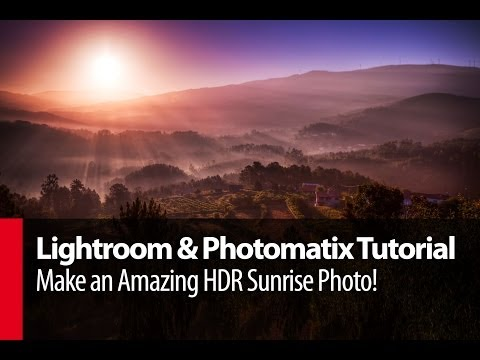 Lightroom & Photomatix Tutorial: Make an Amazing HDR Sunrise Photo! - PLP # 4 by Serge Ramelli