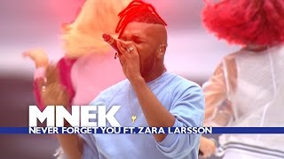 MNEK feat Zara Larsson Never Forget You Live At The Summertime Ball 2016