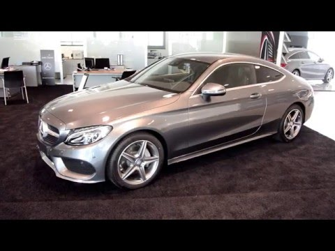 Mercedes clase C coupe | Review en Español / Prueba / Test | Supercars of Mike