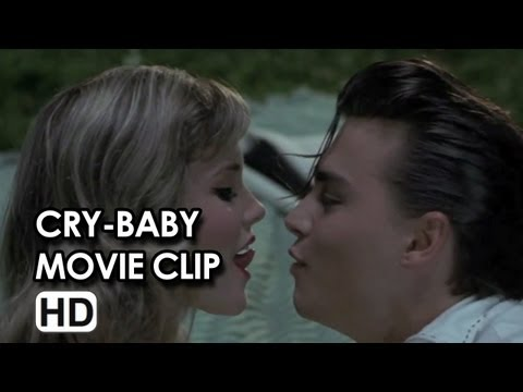 Johnny Depp in Cry-Baby Movie Clip - How to French Kiss