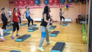 "Zumba® Step ""YEKE YEKE DANCE"" by Lena Prudnikova"