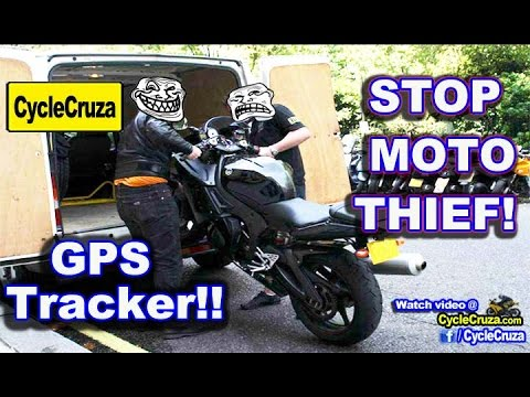 Motorcycle GPS Tracker? Prevent Motorcycle Theft | MotoVlog