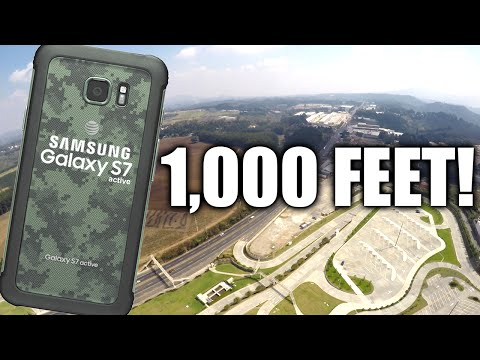 Can a Samsung Galaxy S7 Active Survive a 1,000 FT DROP??!!!