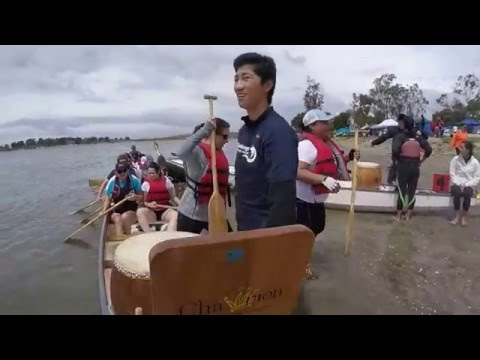 Dragon Boat Race San Diego 2016: TEAM ALPHABOAT-GOOGLE Race 2