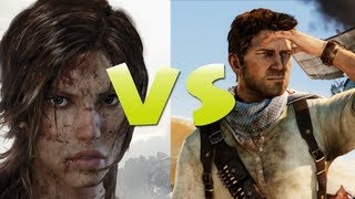 Tomb Raider - Tomb Raider vs Uncharted [HD]