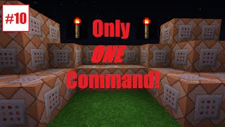 Minecraft: Support Towers | Only One Command