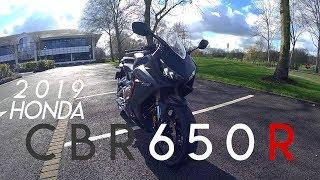 2019 HONDA CBR650R | Very quick test ride!