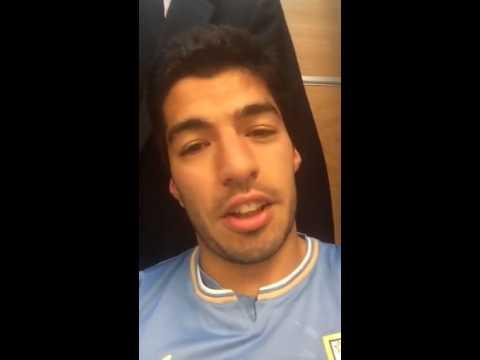 Luis Suárez agradece todo el apoyo de Uruguay tras el partido ante Inglaterra