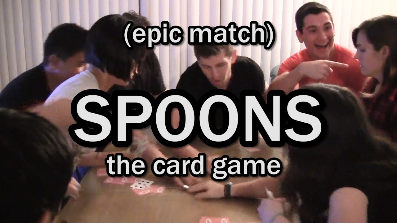Spoons Game Card Spoons The Card Game Epic