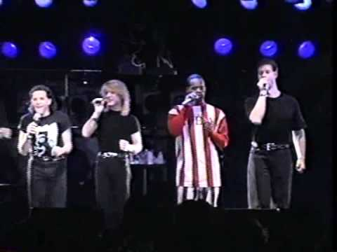 Rockapella  at Shibuya Quatro(1992)