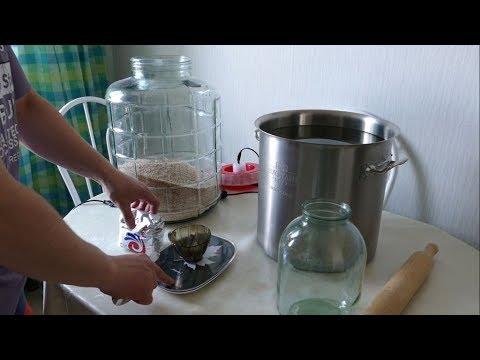 Рецепт пшеничной браги с использованием дрожжей Кодзи Ангел