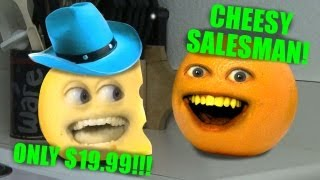 Annoying Orange - Cheesy Salesman