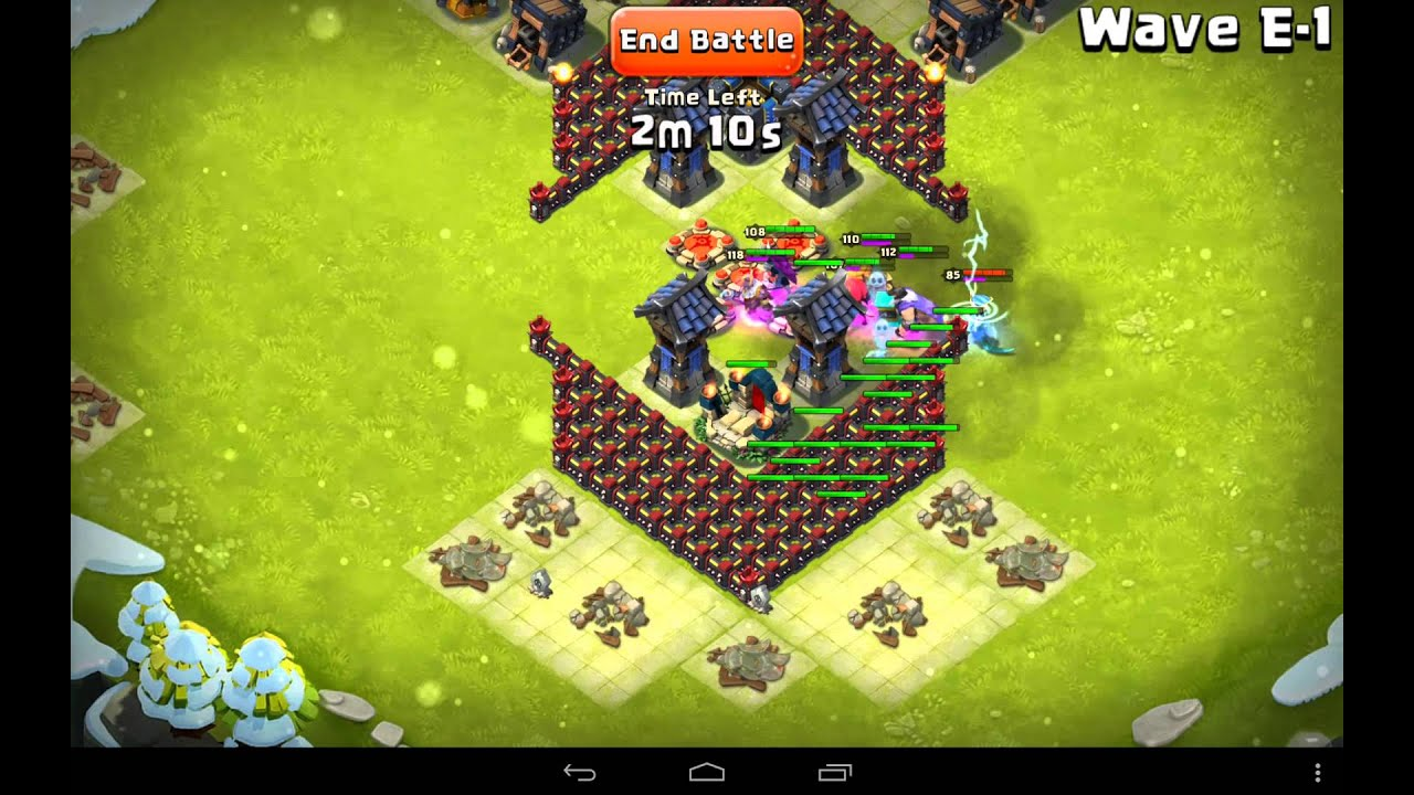 Viewing gallery for castle clash best defense