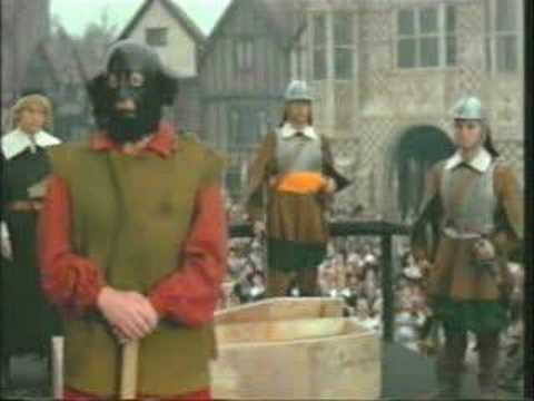 King Charles I Execution video