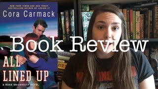 All Lined Up by Cora Carmack | Let's Talk Books