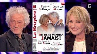 Fanny Cottençon & Jean-Luc Moreau - On n'est pas couché 7 mars 2015 #ONPC