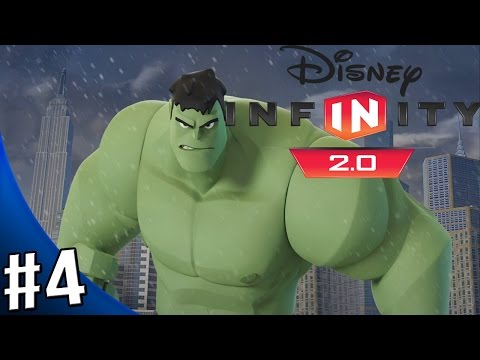 Disney Infinity 2.0 Marvel Super Heroes - The Avengers Playset - Walkthrough Part 4 - LOKI