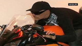 CNN: Dead man riding motorcycle at his funeral