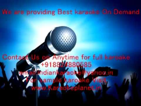 Jaise Suraj Ki Garmi Se karaoke- Parinay