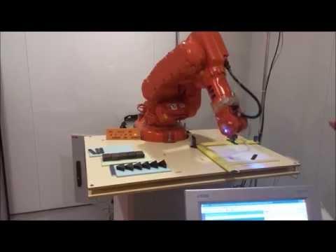 Reconocimiento y clasificación de piezas: Visión artificial + Robótica