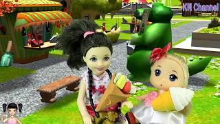 Thơ Nguyễn - Búp bê đi chơi công viên thật thú vị