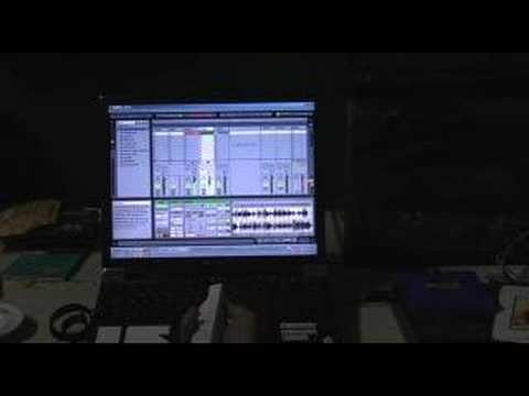 Wii Wiimote Ableton Live Controller