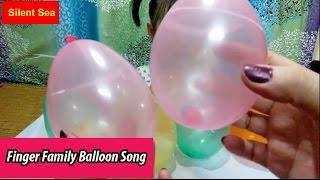 Bóng Bay The Finger Family Balloons Song Nhạc thiếu Nhi Bài Hát Gia Đình Bóng Bay Nursery Rhymes