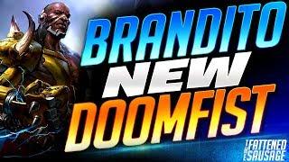 Brandito Makes NEW Doomfist Look OVERPOWERED!   Overwatch