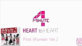 Watch 4minute First korean Version video
