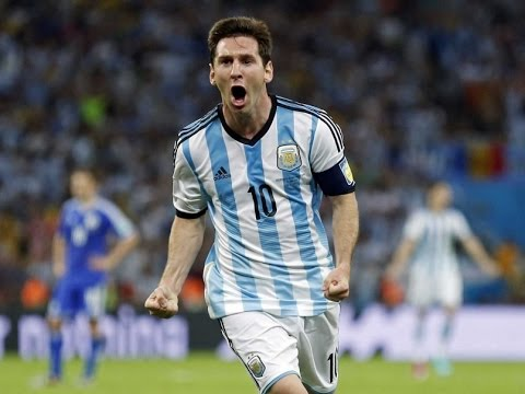 Messi's All Goals & Assist In World Cup 2014 HD