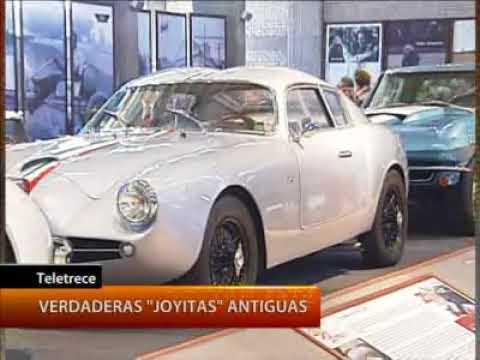 La mayor colección de autos antiguos del Bicentenario