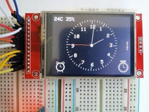 Ардуино часы