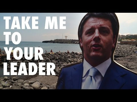 Sicilians Give Italian PM Matteo Renzi A Piece Of Their Mind
