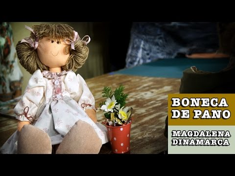 18/09/2014 - Boneca de pano Carina (Magdalena Dinamarca)