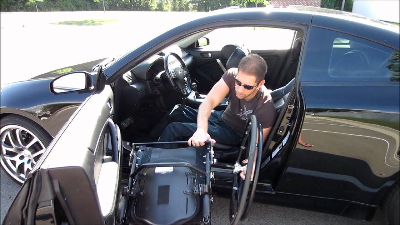 Paraplegic Car Transfer Youtube