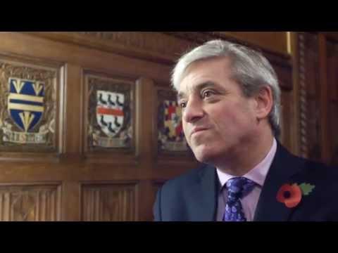Interview - Mr Speaker, Rt Hon John Bercow MP