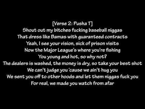 Pusha T - M.P.A (Lyrics) Ft. Kanye West, Asap Rocky & The Dream King Push: Darkest Before Dawn