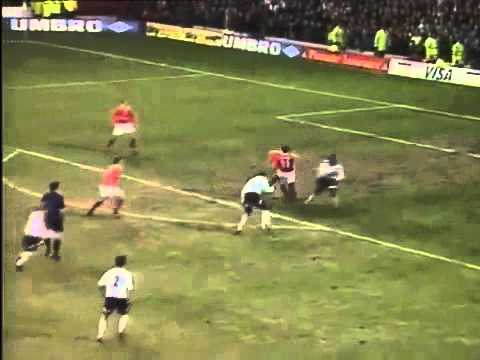 Man Utd vs Nottingham Forest 1999 - Solskjaer 4 goals