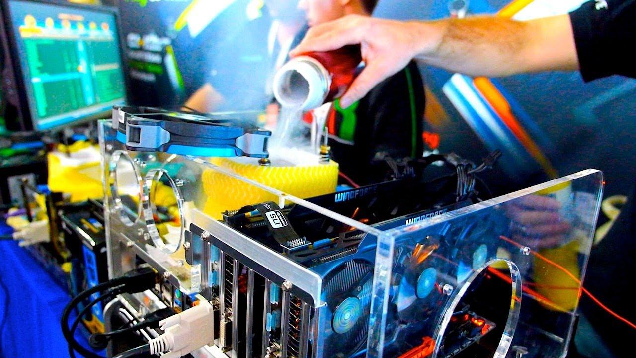 Gaming Laptops Amp Liquid Nitrogen Cooling Gigabyte