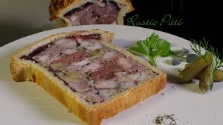 Rustic Pâté – Bruno Albouze – THE REAL DEAL